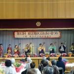 「鹿忍ふれあい祭り」にて演奏してきました。