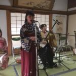 津山市(岡山)の永案寺にて演奏してきました。